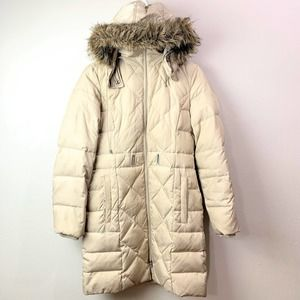 Kenneth Cole Reaction Puffer Coat Down Quilted
